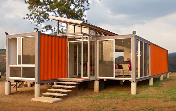 Interesting homes built using shipping containers Squat the Planet
