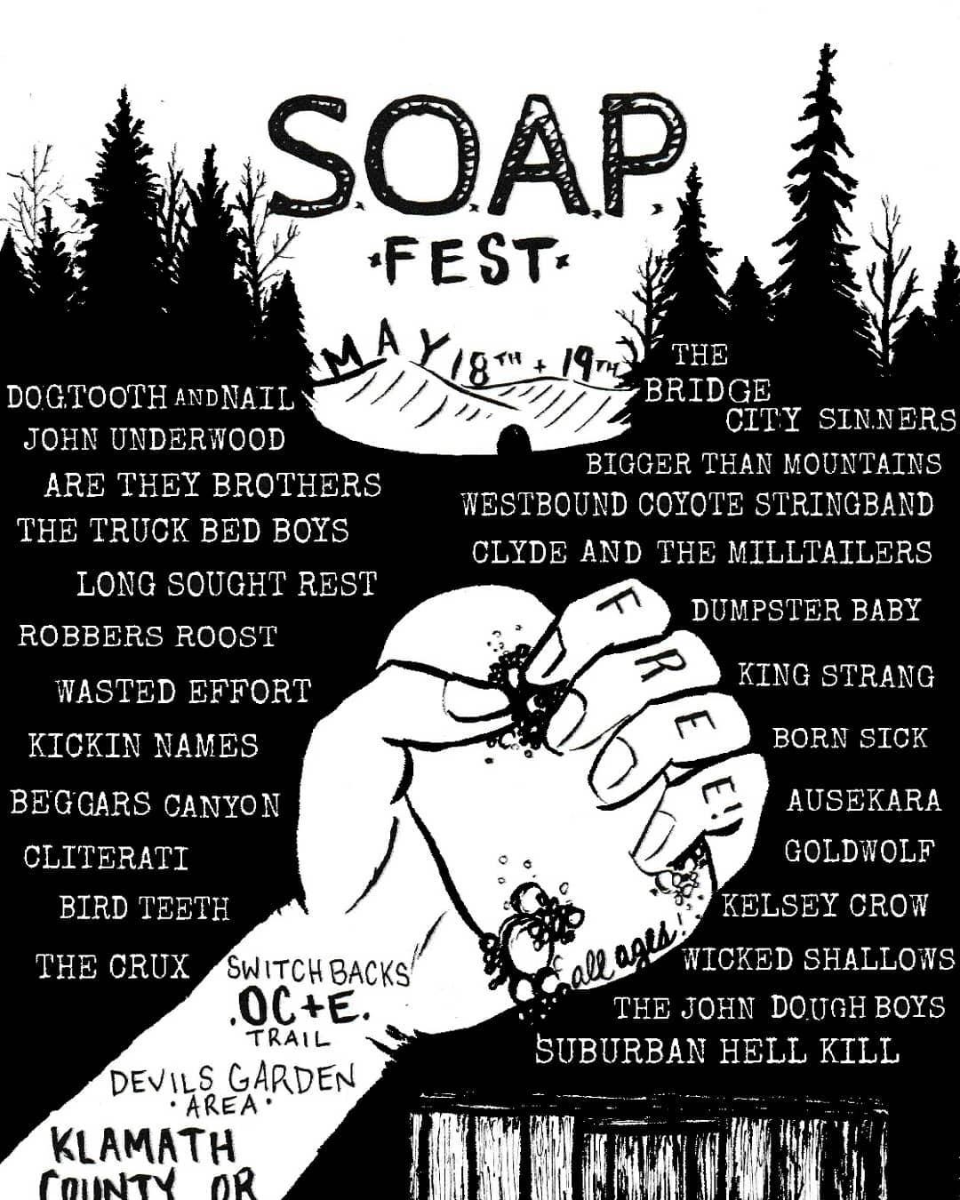 10a4dd6e-a60c-47f3-acaa-b3b35cd28191-jpeg.49860_S.O.A.P. Fest in the woods of Oregon!_Events / Gatherings / Festivals_Squat the Planet_12:57 PM
