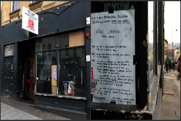 13336612-large-jpg.29586_Squatters have occupied a former Starbucks coffee shop on Park Street in Bristol_Squatting_Squat the Planet_1:16 AM