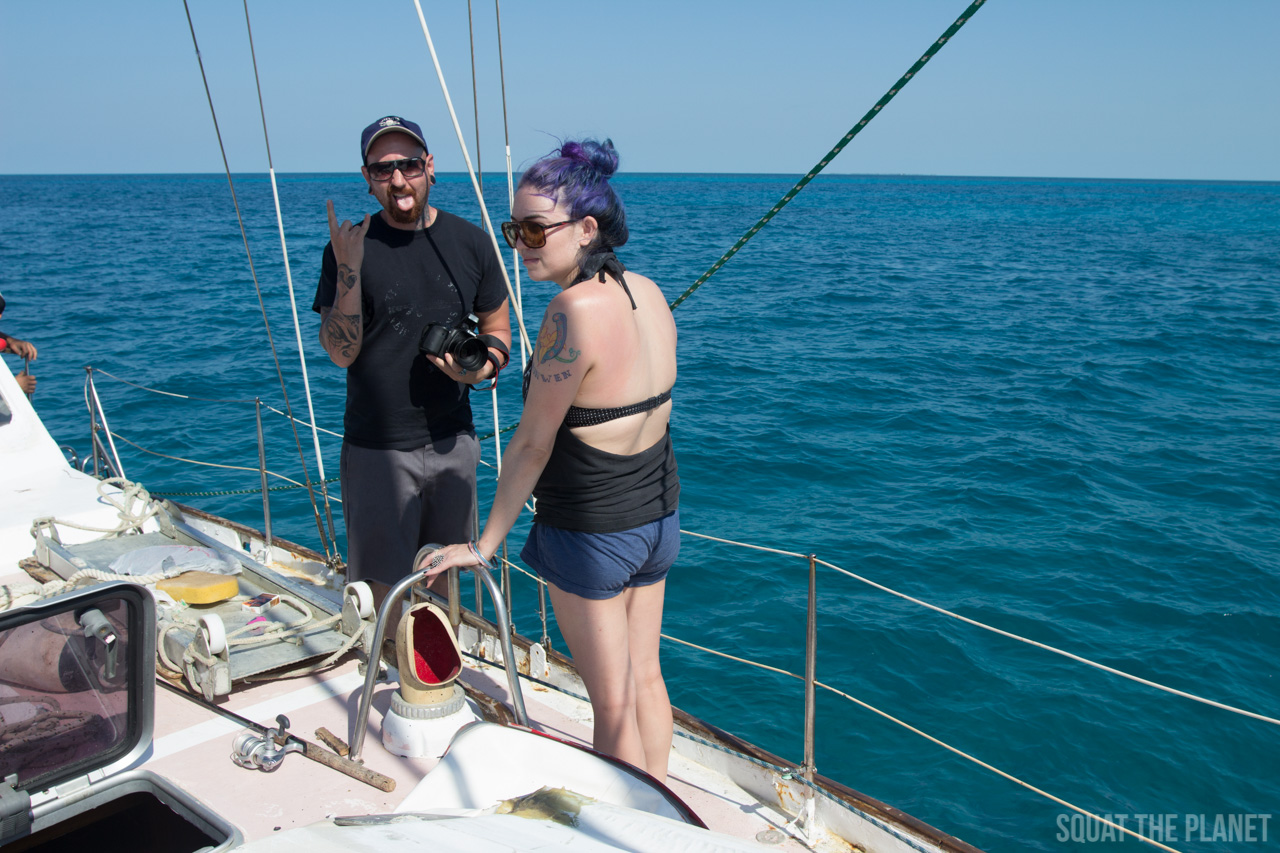 adam-and-lauren_05-07-2013-jpg.12004_Sailing the Dry Tortugas and Decapitation_Boat Punk / Sailing_Squat the Planet_5:19 PM