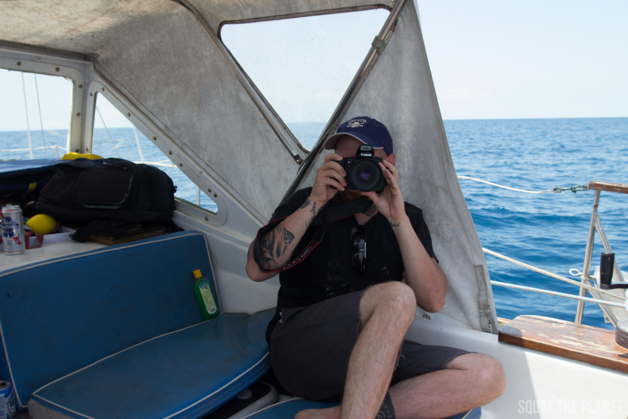 adam-with-camera_05-07-2013-jpg.12002_Sailing the Dry Tortugas and Decapitation_Boat Punk / Sailing_Squat the Planet_5:19 PM