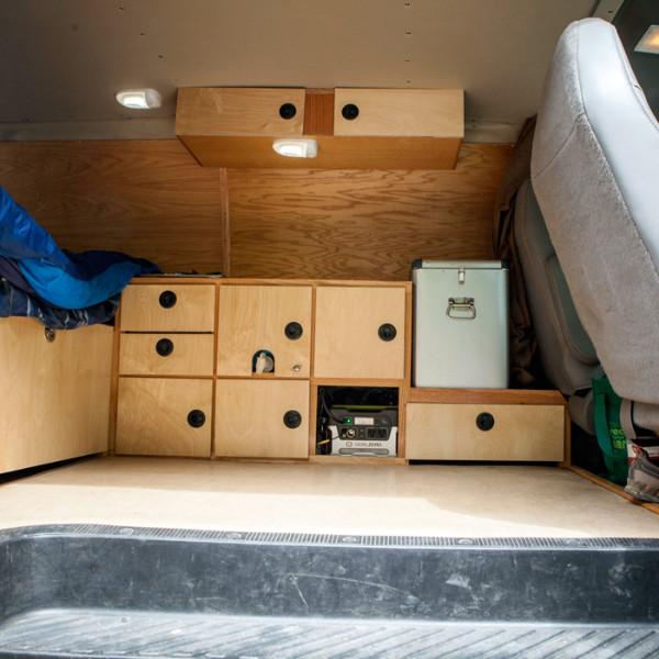 alex-honnold-storage_ph-jpg.20695_Alex Honnold's Ultimate Adventure Vehicle_Van Dwelling / Rubber Tramping_Squat the Planet_9:30 AM