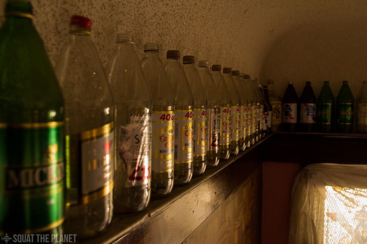 Beer bottles along the wall_10-08-2013_004.jpg
