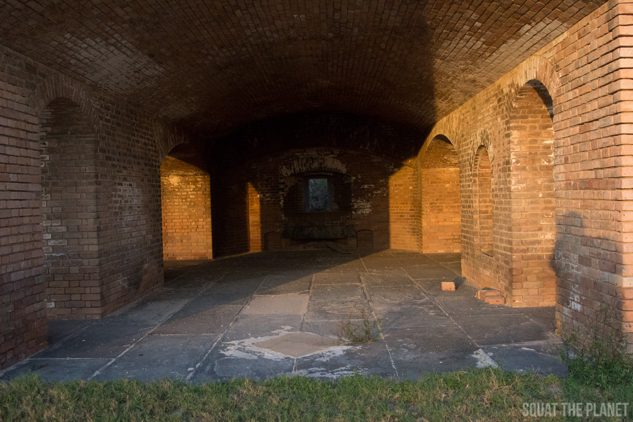 fort-jefferson-room-at-sunset_05-08-2013-jpg.11993_Sailing the Dry Tortugas and Decapitation_Boat Punk / Sailing_Squat the Planet_5:19 PM