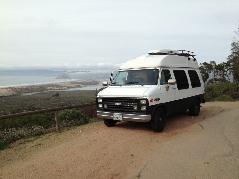 "image-803x602-jpg.22402_Living in a 1991 Chevrolet G20 ""Sport Van""_Van Dwelling / Rubber Tramping_Squat the Planet_7:50 PM"