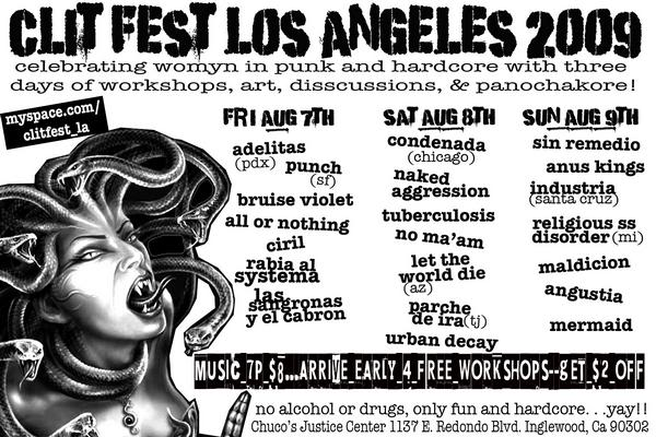 l_36006f2f78e840b3a2fcd6d58f833d65-jpg.31893_CLIT FEST LOS ANGELES 2009!!! (More Bands announced!!!)_Events / Gatherings / Festivals_Squat the Planet_7:58 PM