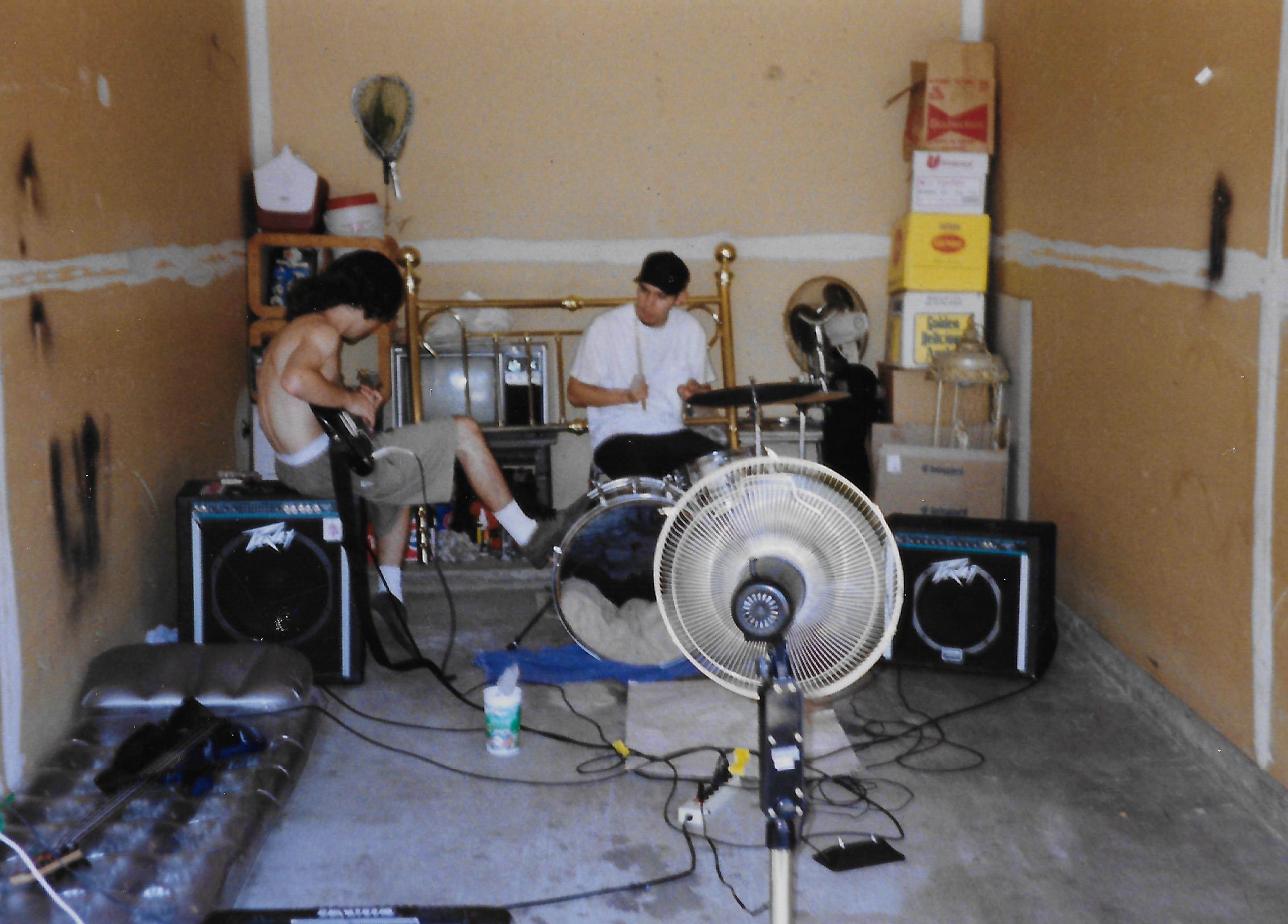 Lee _ Bert playing garage.jpg