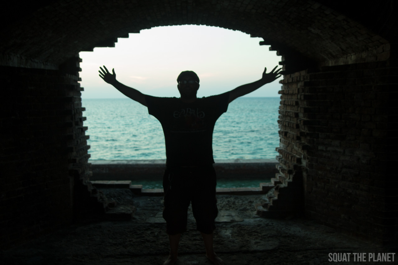 matt-in-archway_05-08-2013-jpg.11985_Sailing the Dry Tortugas and Decapitation_Boat Punk / Sailing_Squat the Planet_5:19 PM