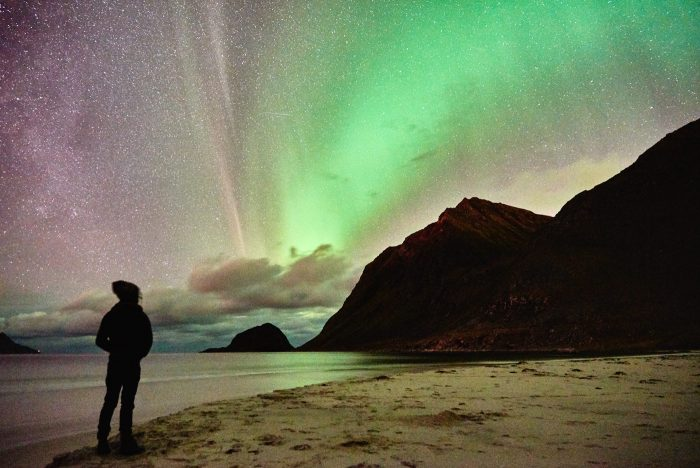 northern-lights-aurora-lofoten-by-campervan-haukland-beach-7-700x468-jpg.47598_Lofoten by Campervan: Watching the Northern Lights on Haukland Beach_Van Dwelling / Rubber Tramping_Squat the Planet_3:02 PM