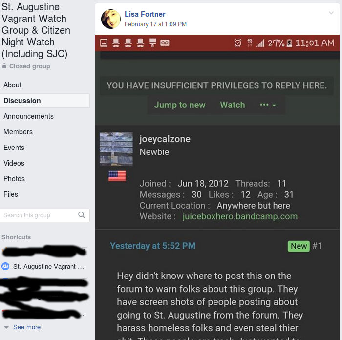screenshot_2019-02-20_16-52-49-png.49059_St Augustine anti-homeless group harasses StP community_People & Cultures_Squat the Planet_8:14 AM