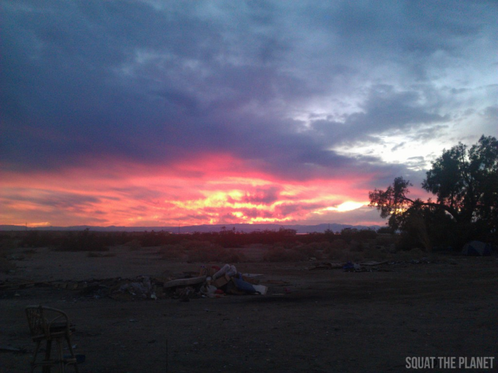 slab-city-sunset-1_01-01-2013-1024x768-jpg.29791_My Past Year Of Travel_Travel Stories_Squat the Planet_4:47 PM