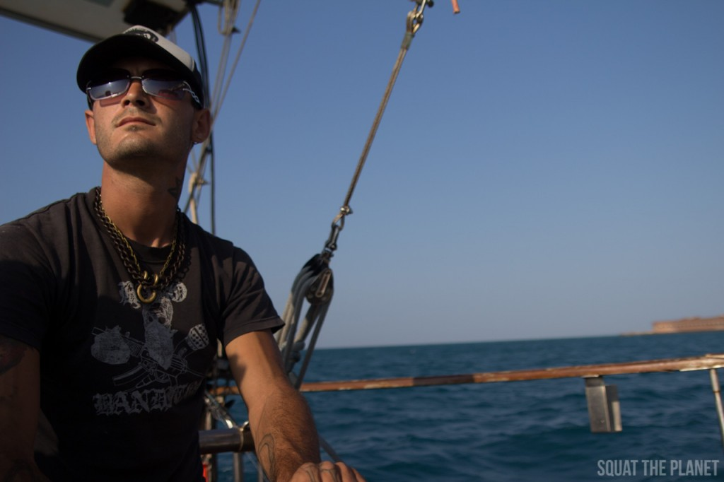 tyler-at-helm_05-08-2013-1024x682-jpg.29793_My Past Year Of Travel_Travel Stories_Squat the Planet_4:47 PM